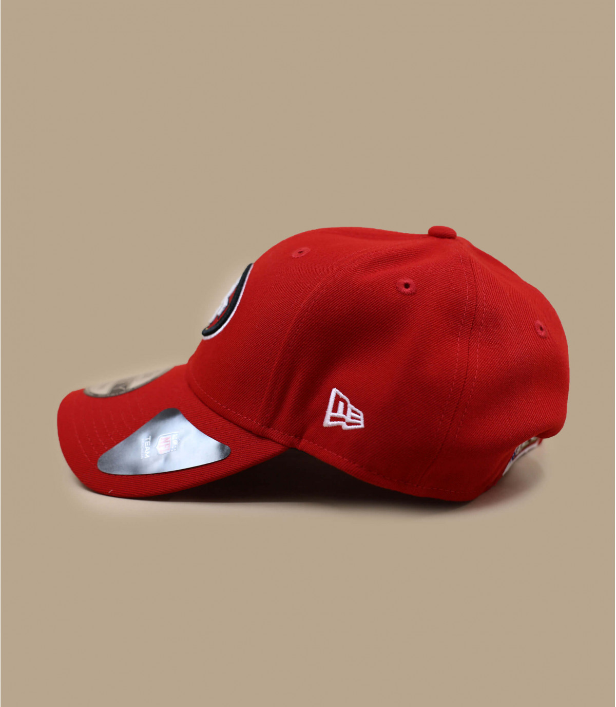 casquette curve49ers rouge
