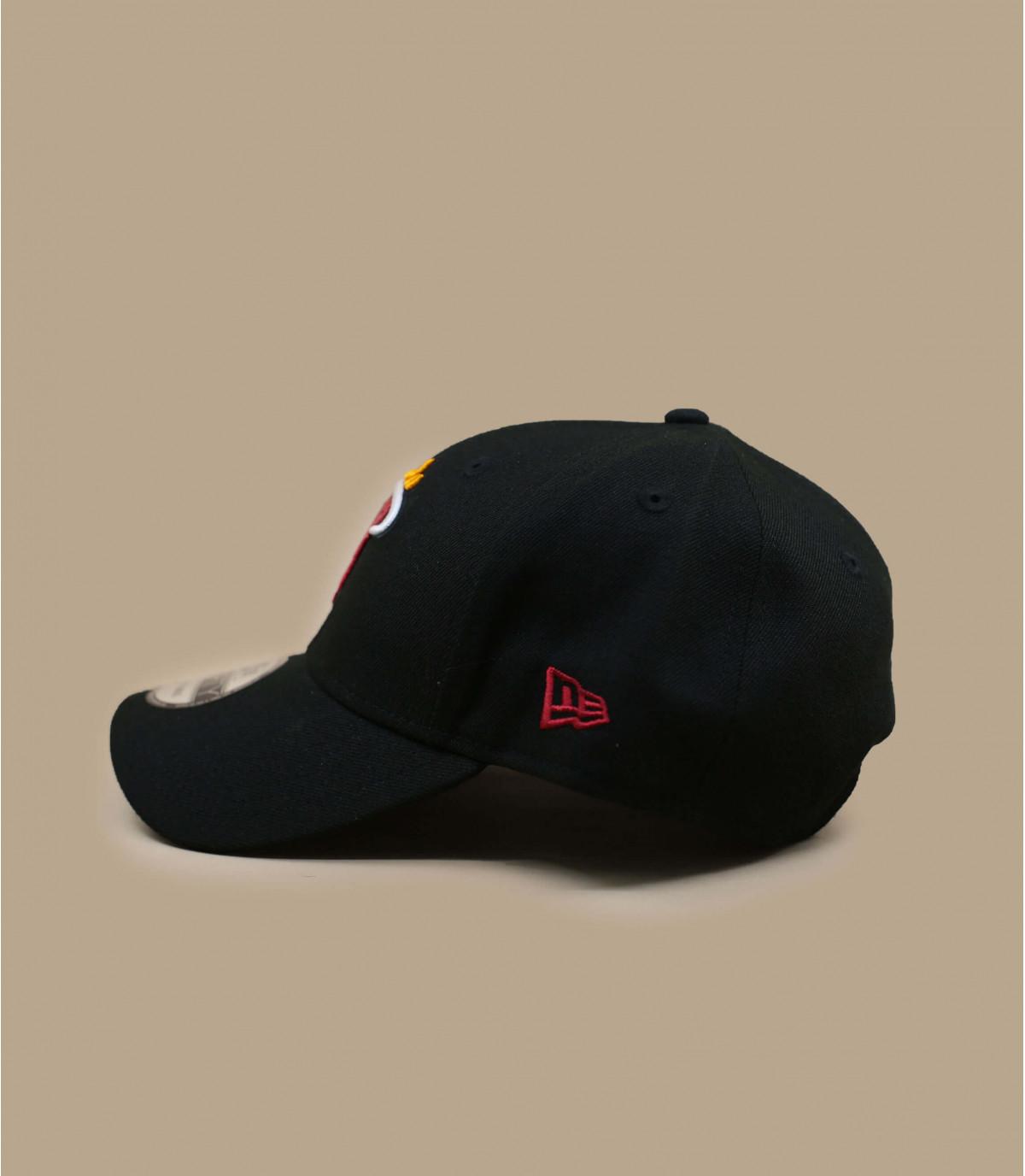 casquette Heat NBA noir