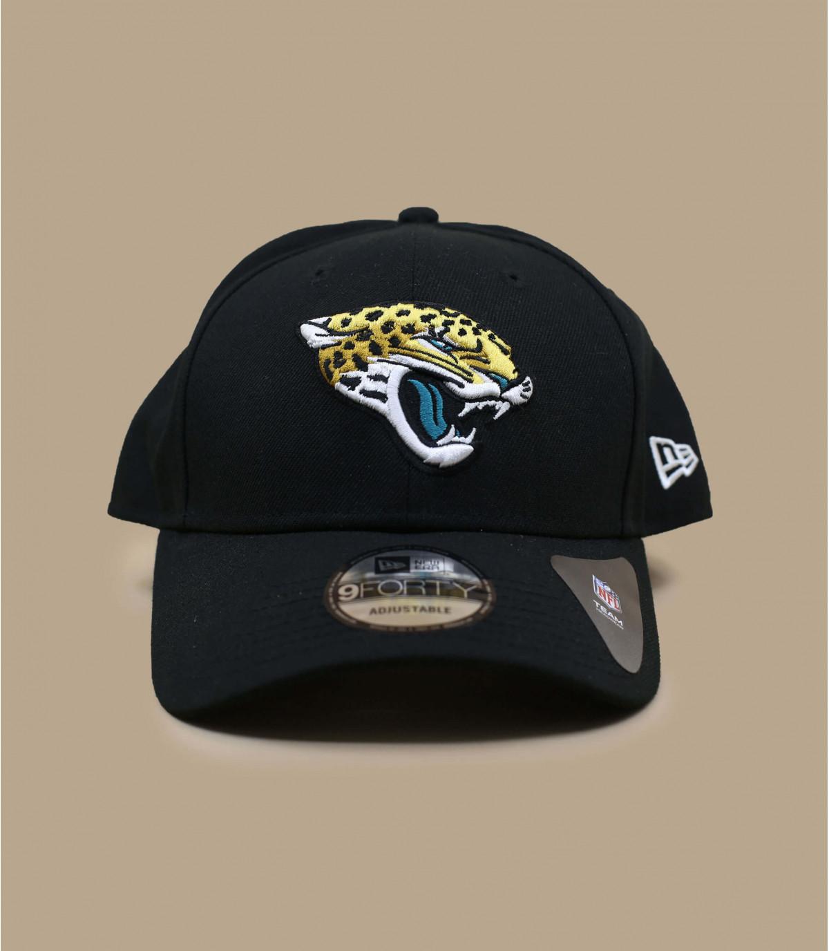 casquette curve Jaguars noir