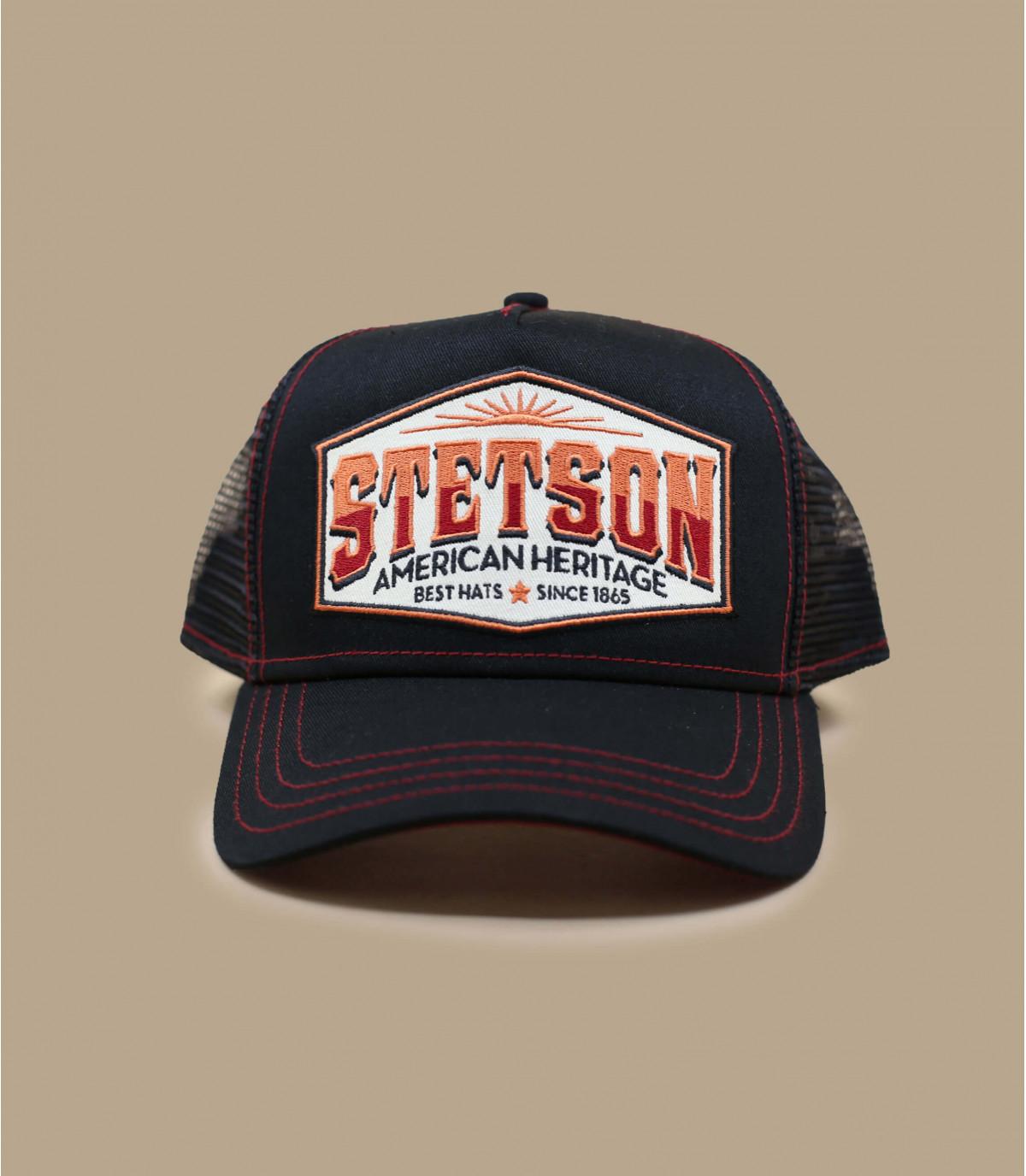 casquette trucker noir Stetson