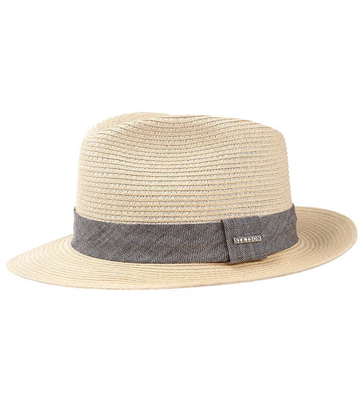 chapeau paille homme stetson reedley toyo cream par stetson headict. Black Bedroom Furniture Sets. Home Design Ideas