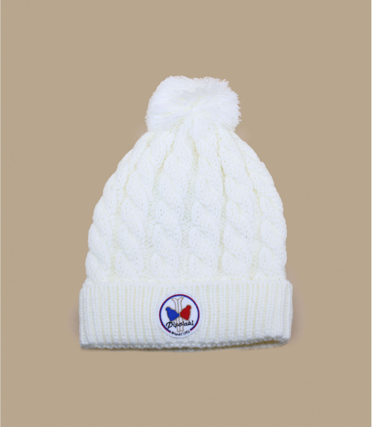 Bonnet blanc homme
