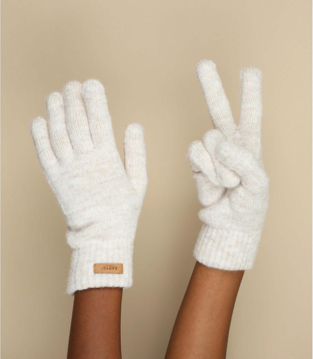 gants beige
