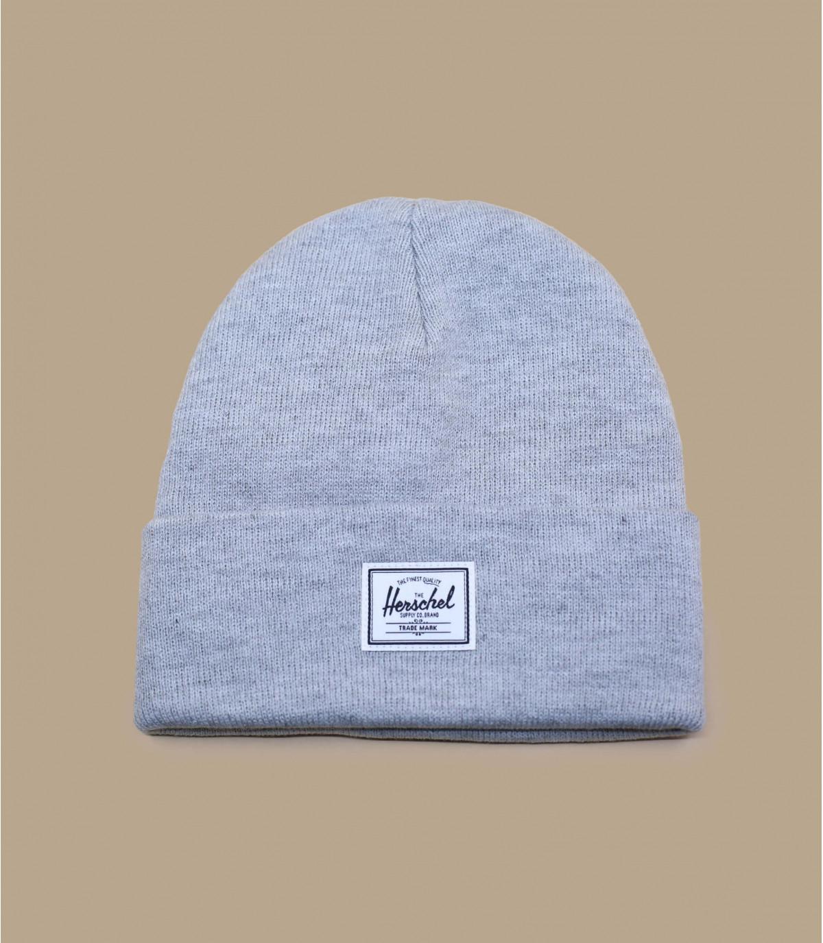 bonnet Herschel gris chiné