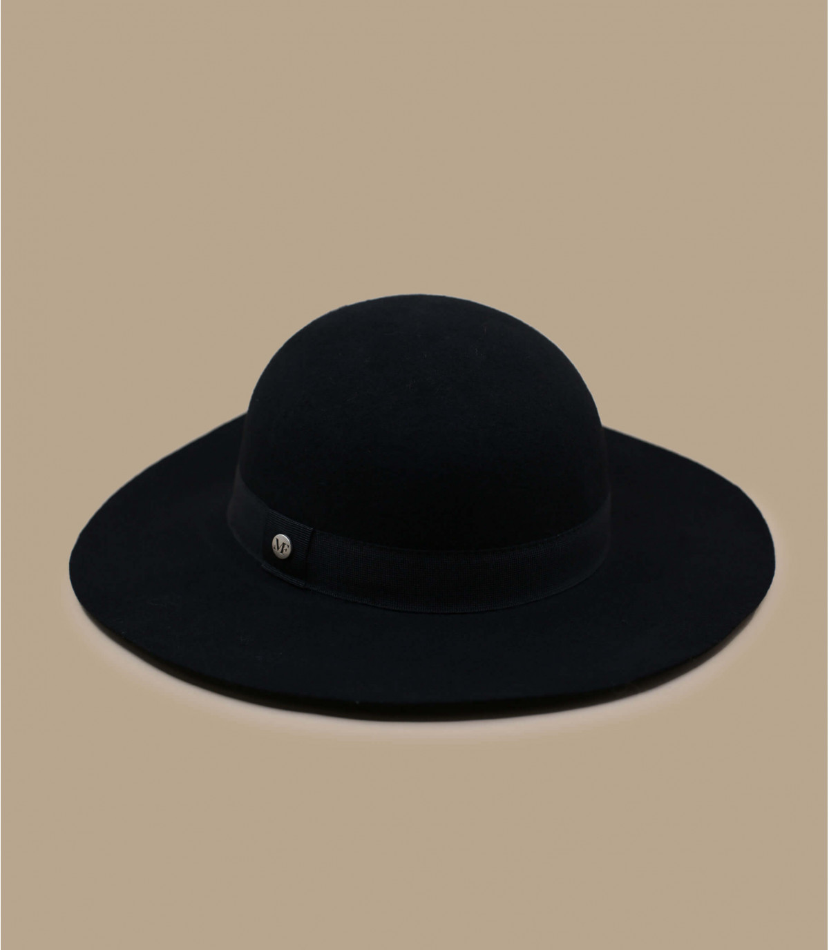 capeline noir laine