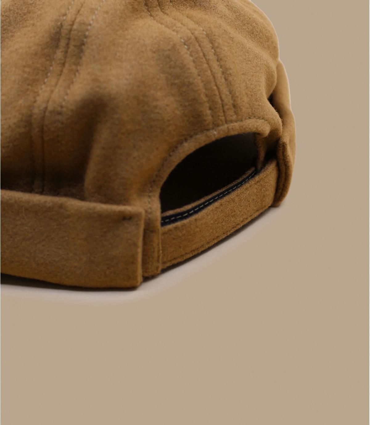 bonnet docker beige laine