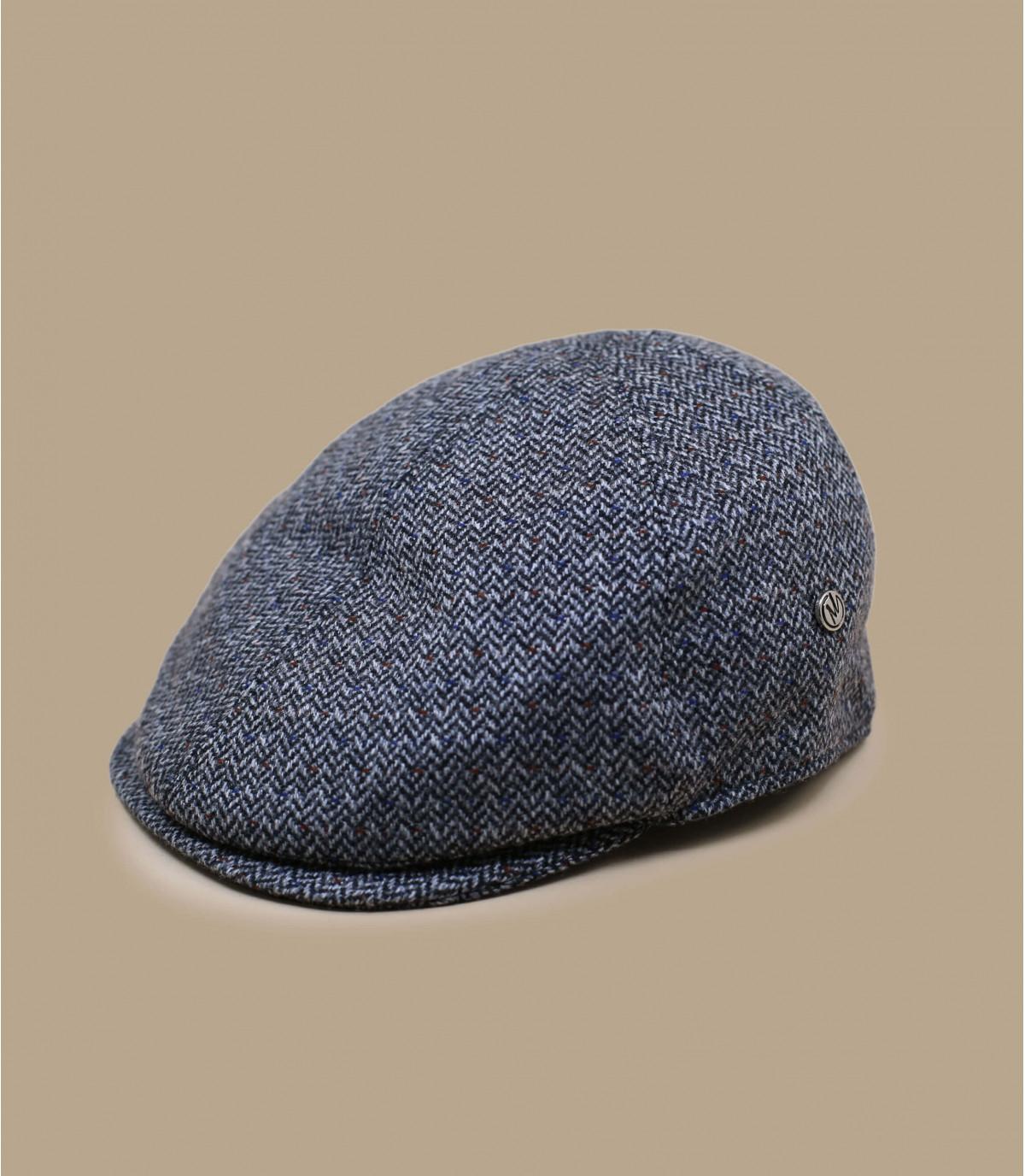béret gris laine cachemire