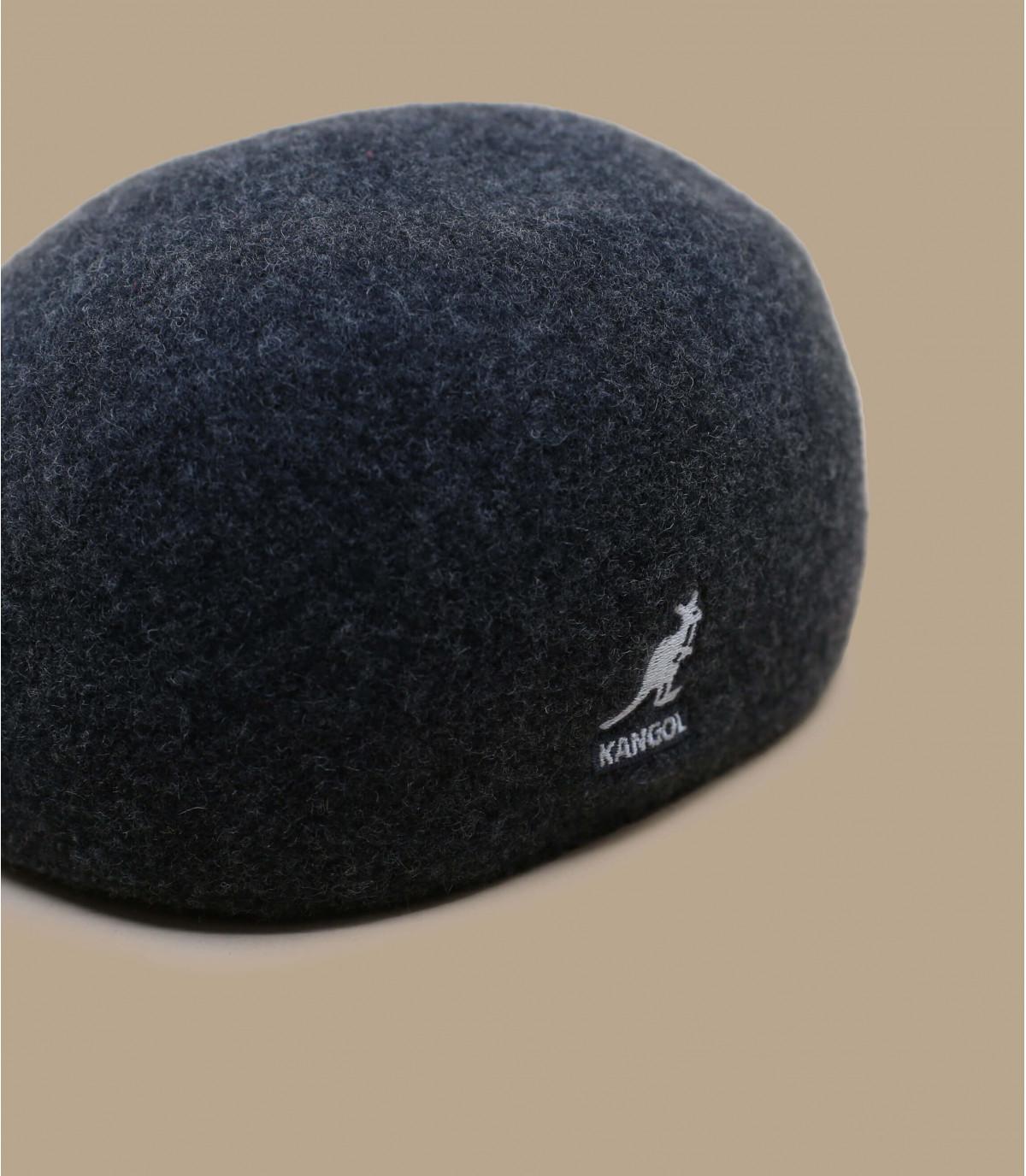béret laine gris Kangol