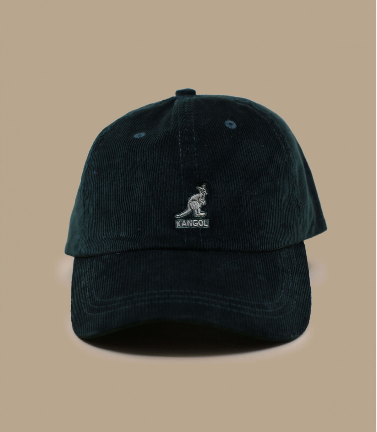 casquette velours vert Kangol