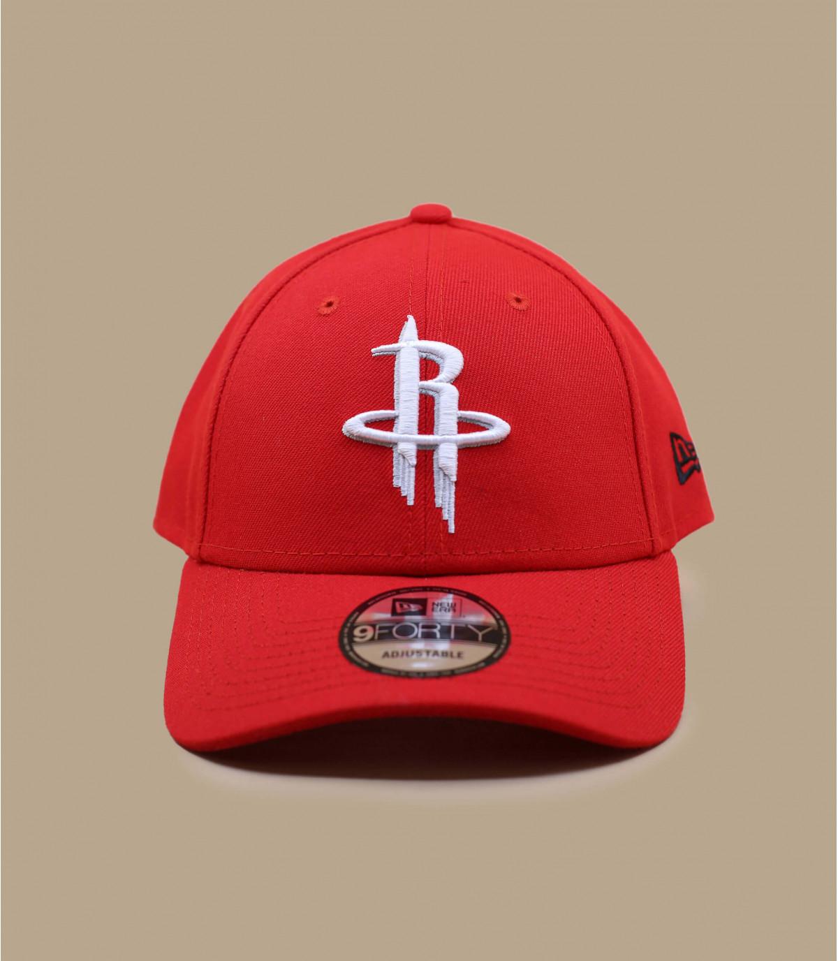 casquette curve Rockets rouge
