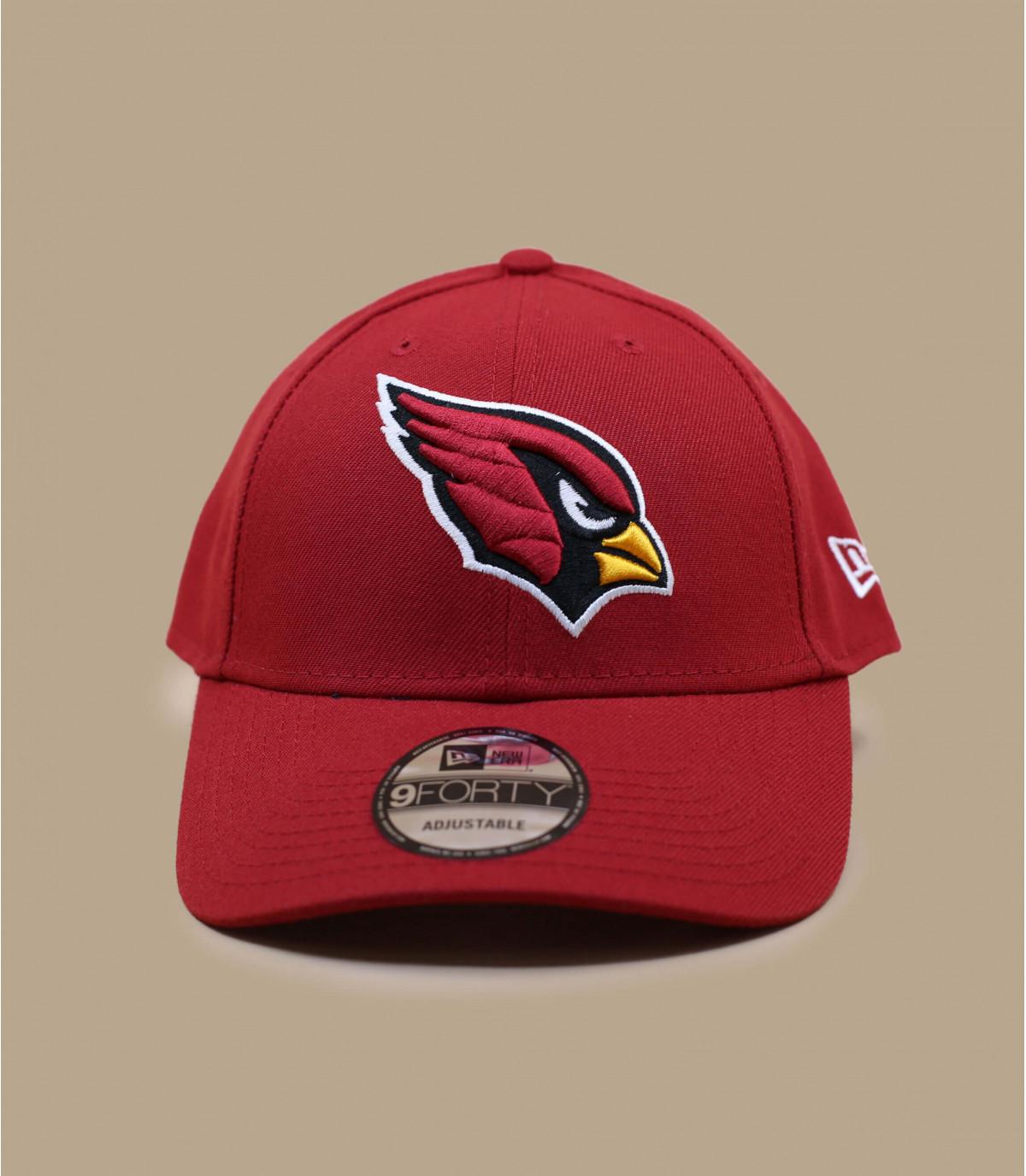 casquette Cardinals bordeaux