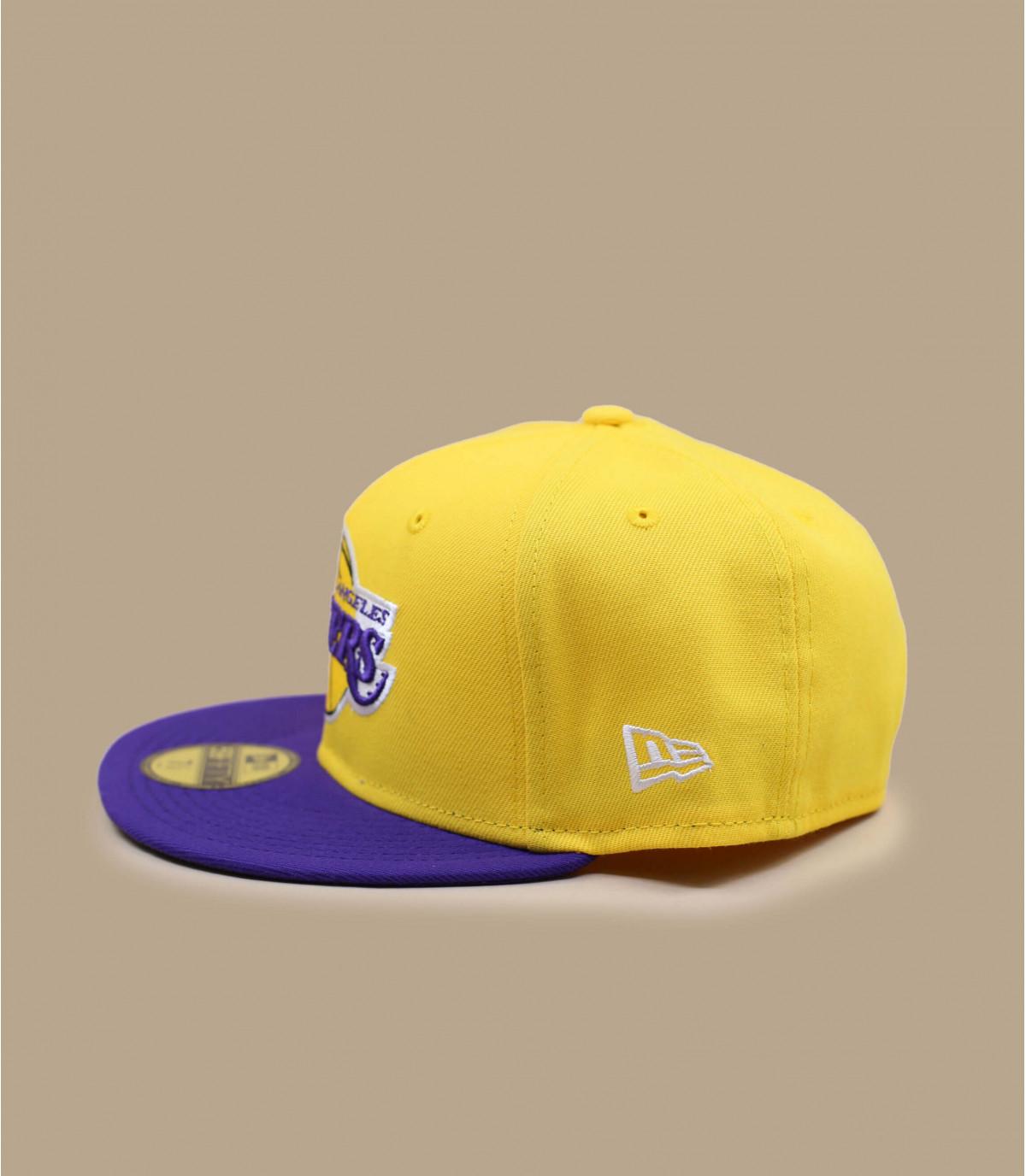 Détails Casquette Lakers 59fifty jaune - image 2