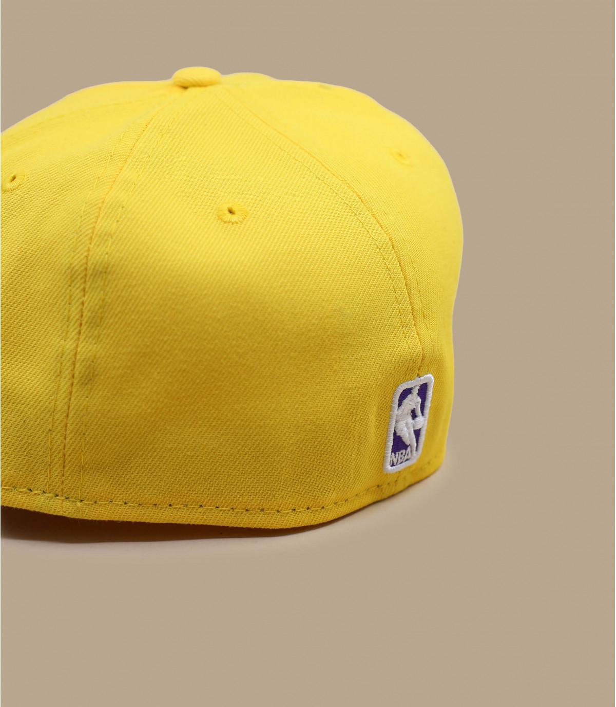 Détails Casquette Lakers 59fifty jaune - image 3