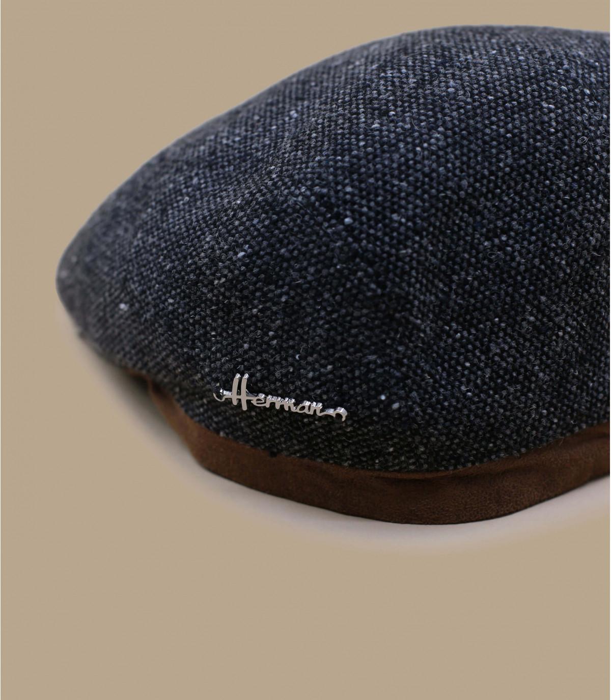 béret laine gris Herman