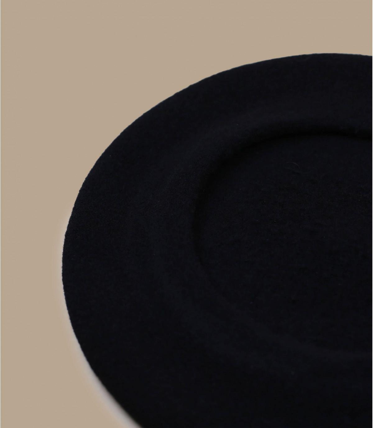 Détails Beret paris noir - image 2