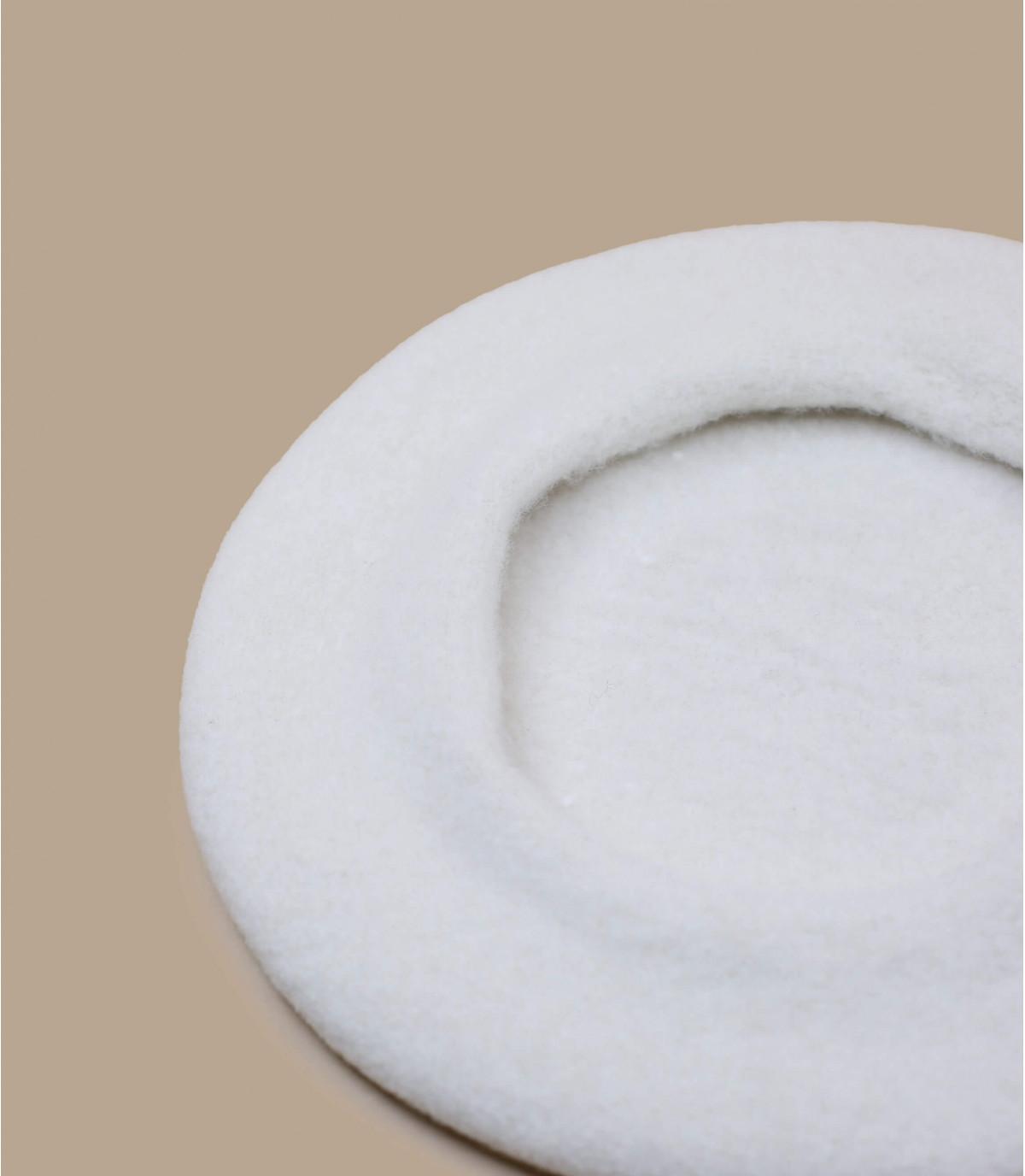 béret basque blanc laine