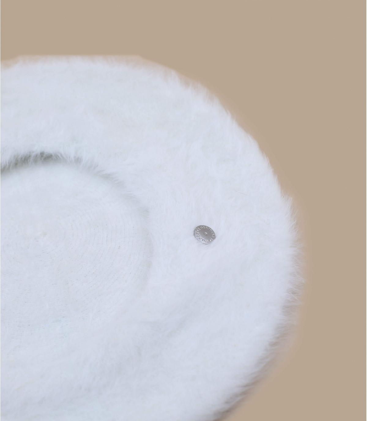 Détails Béret Angora naturel - image 3