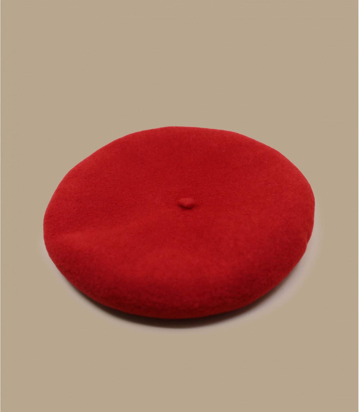 béret rouge cachemire
