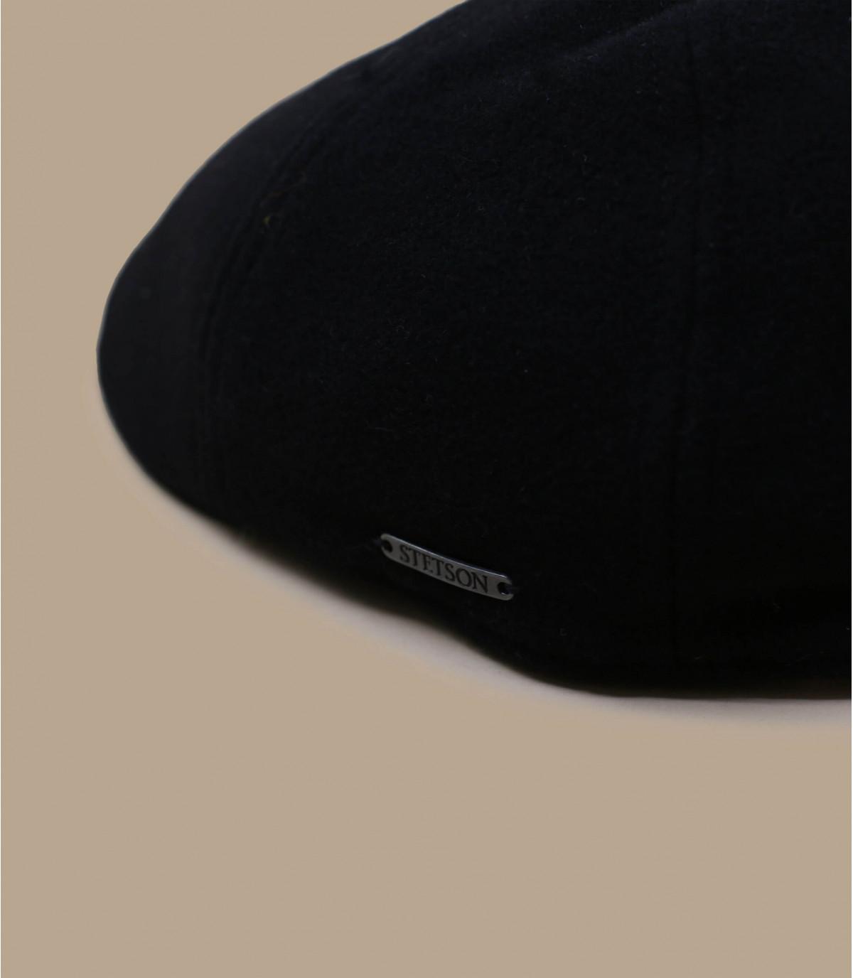 Détails Texas wool cashmere black - image 2