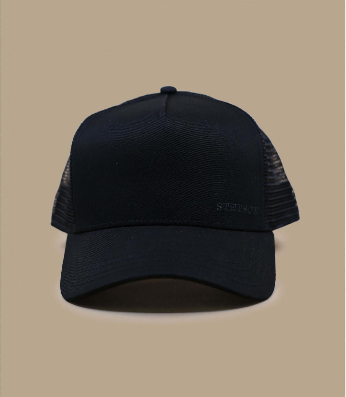 casquette trucker noire