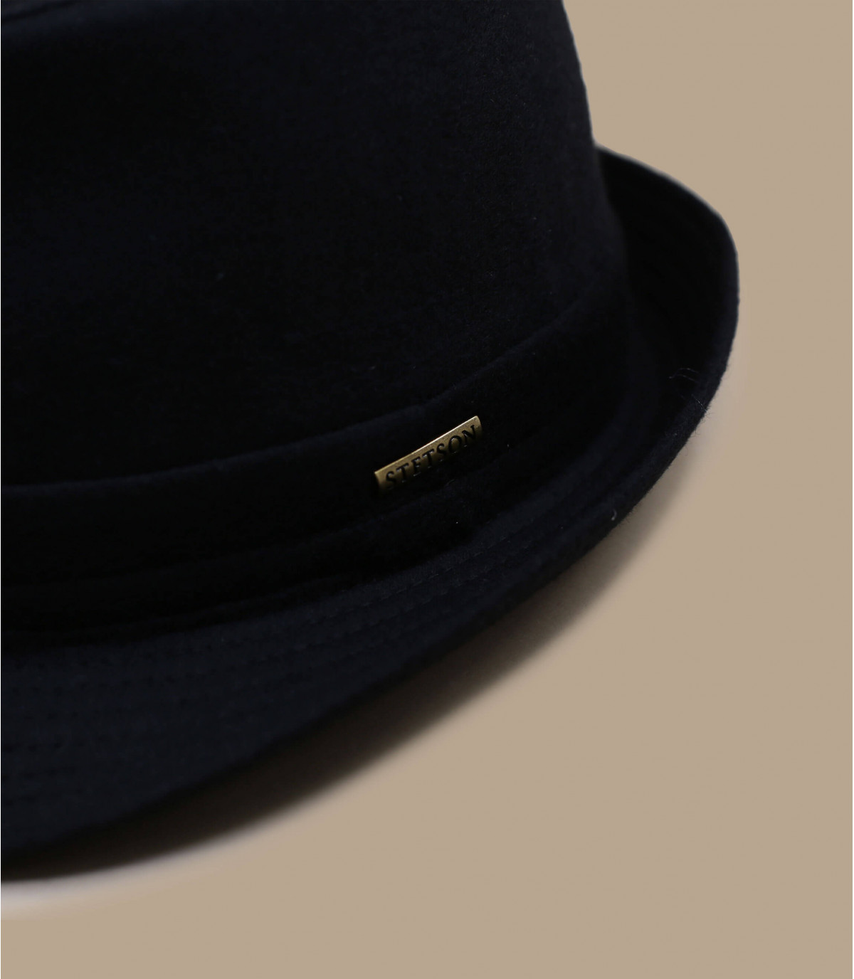 Détails Chapeau Benavides wool noir - image 2