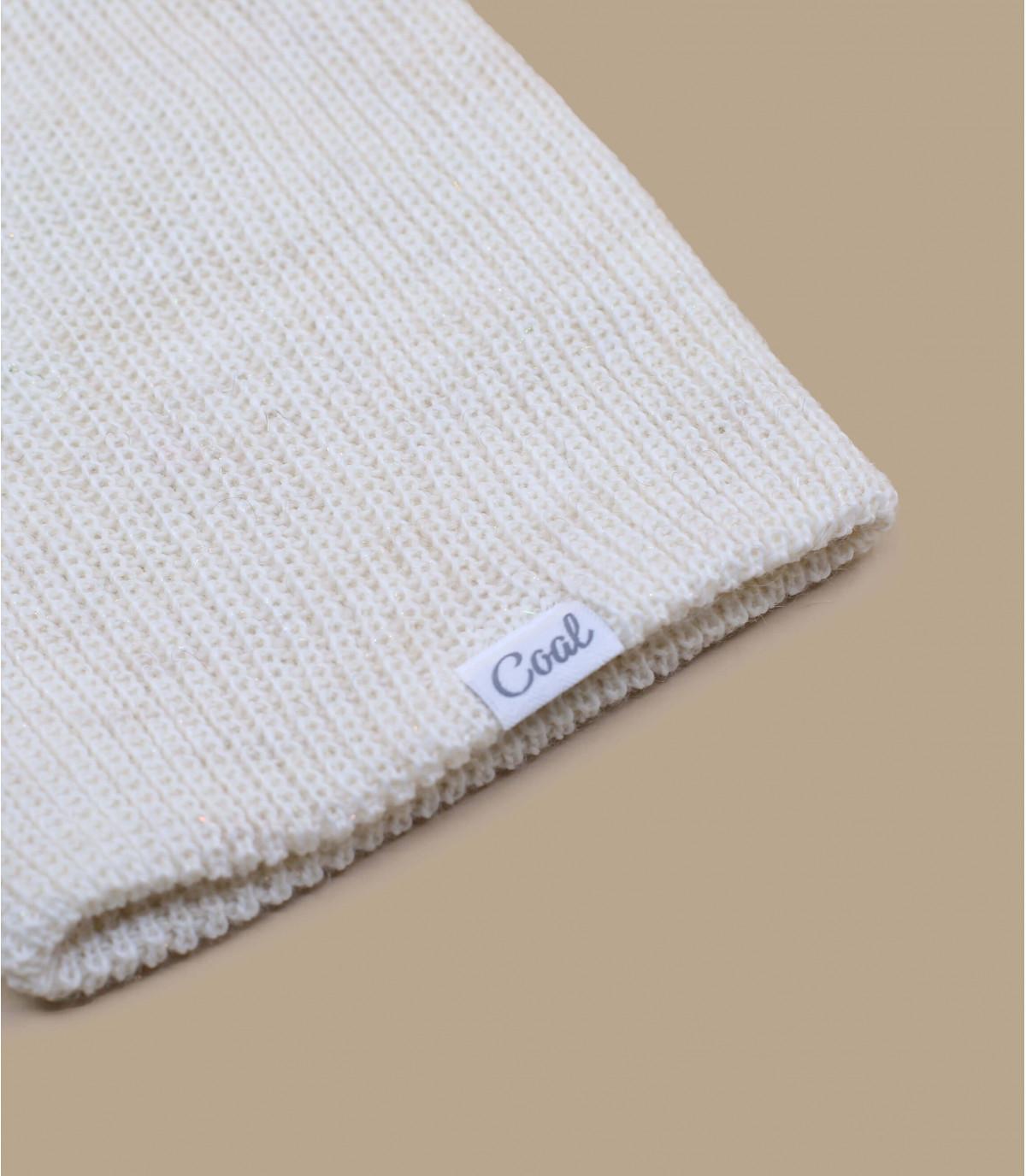 Bonnet fronce blanc