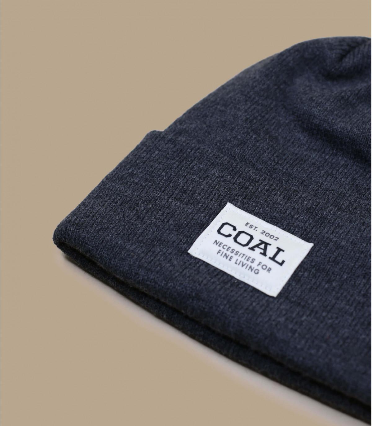 bonnet revers gris patch
