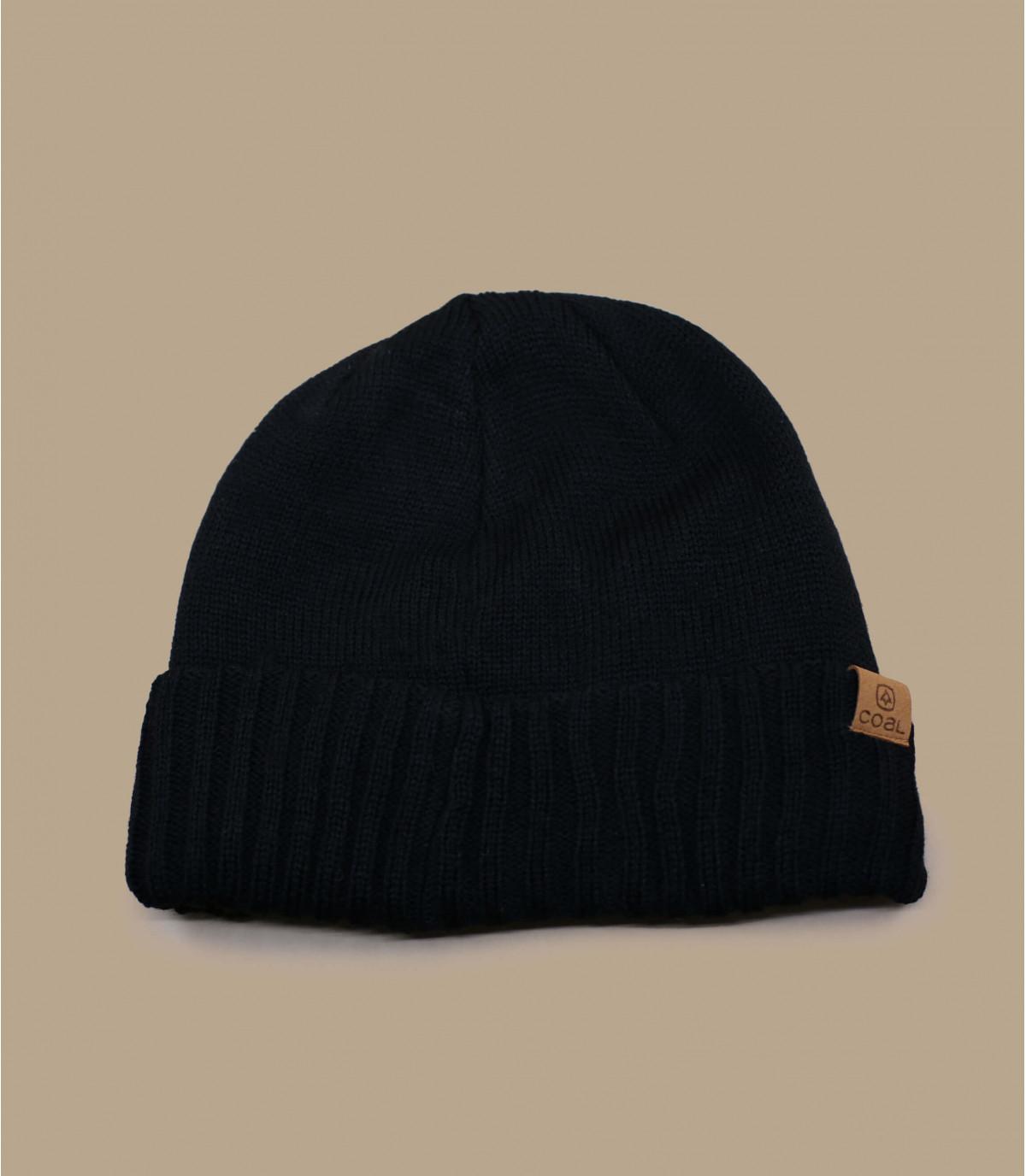 bonnet visière noir Coal