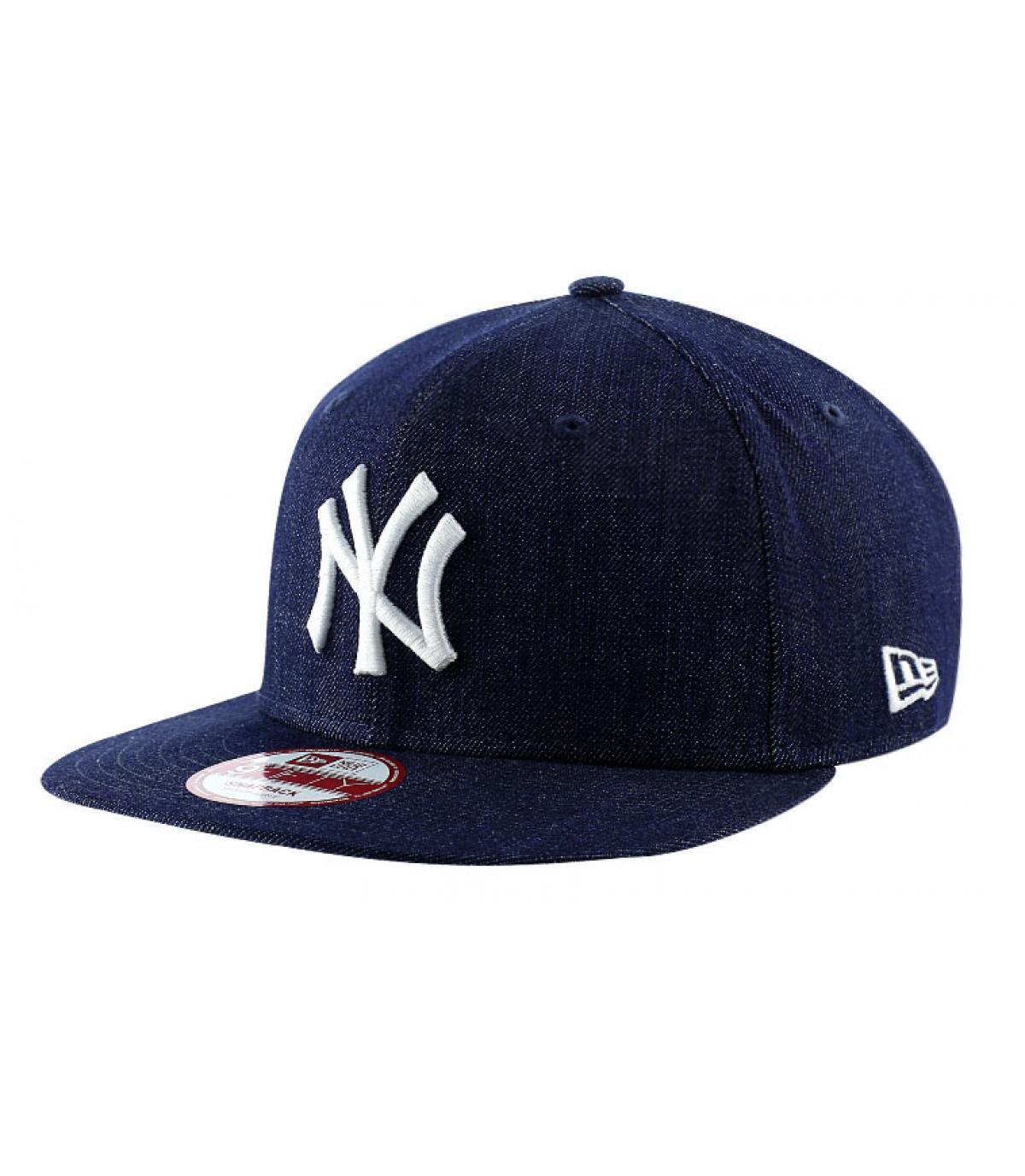 Détails Snapback NY MLB denim basic - image 2