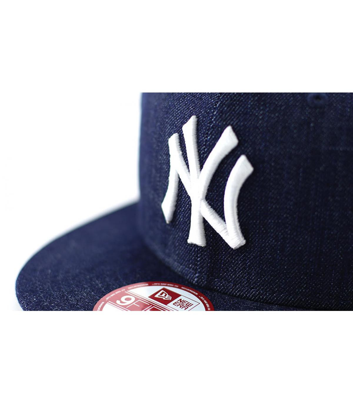 Détails Snapback NY MLB denim basic - image 3