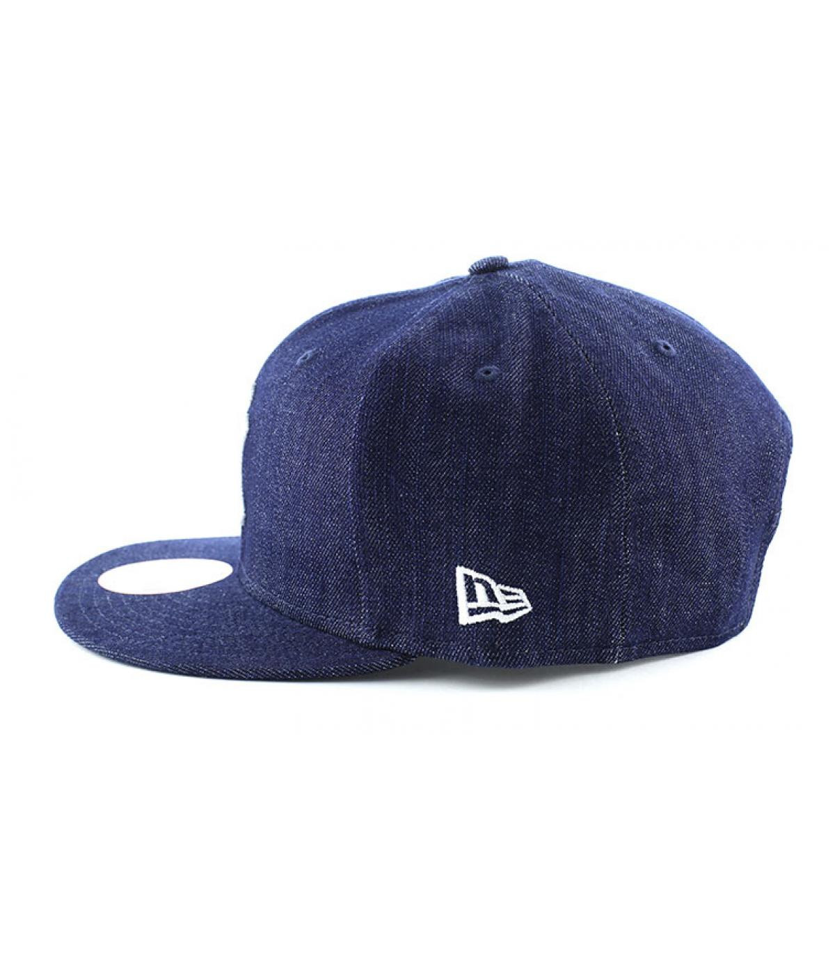 Détails Snapback NY MLB denim basic - image 4