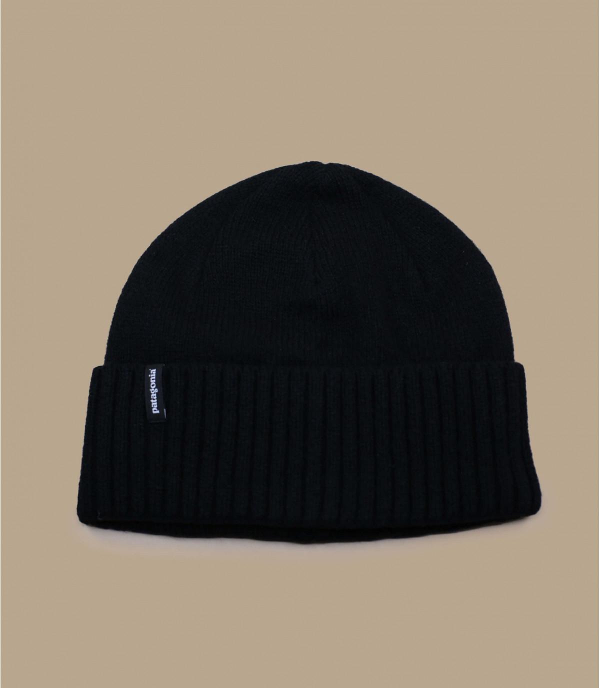 Bonnet en laine noir Patagonia