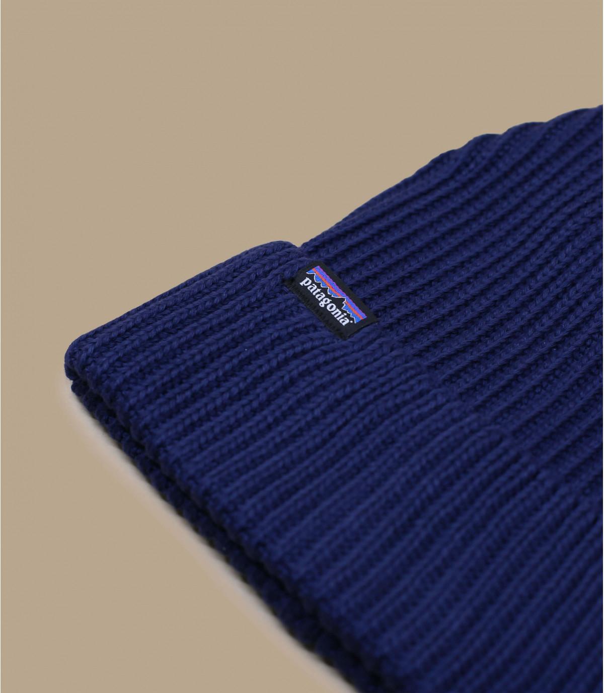 bonnet revers bleu Patagonia