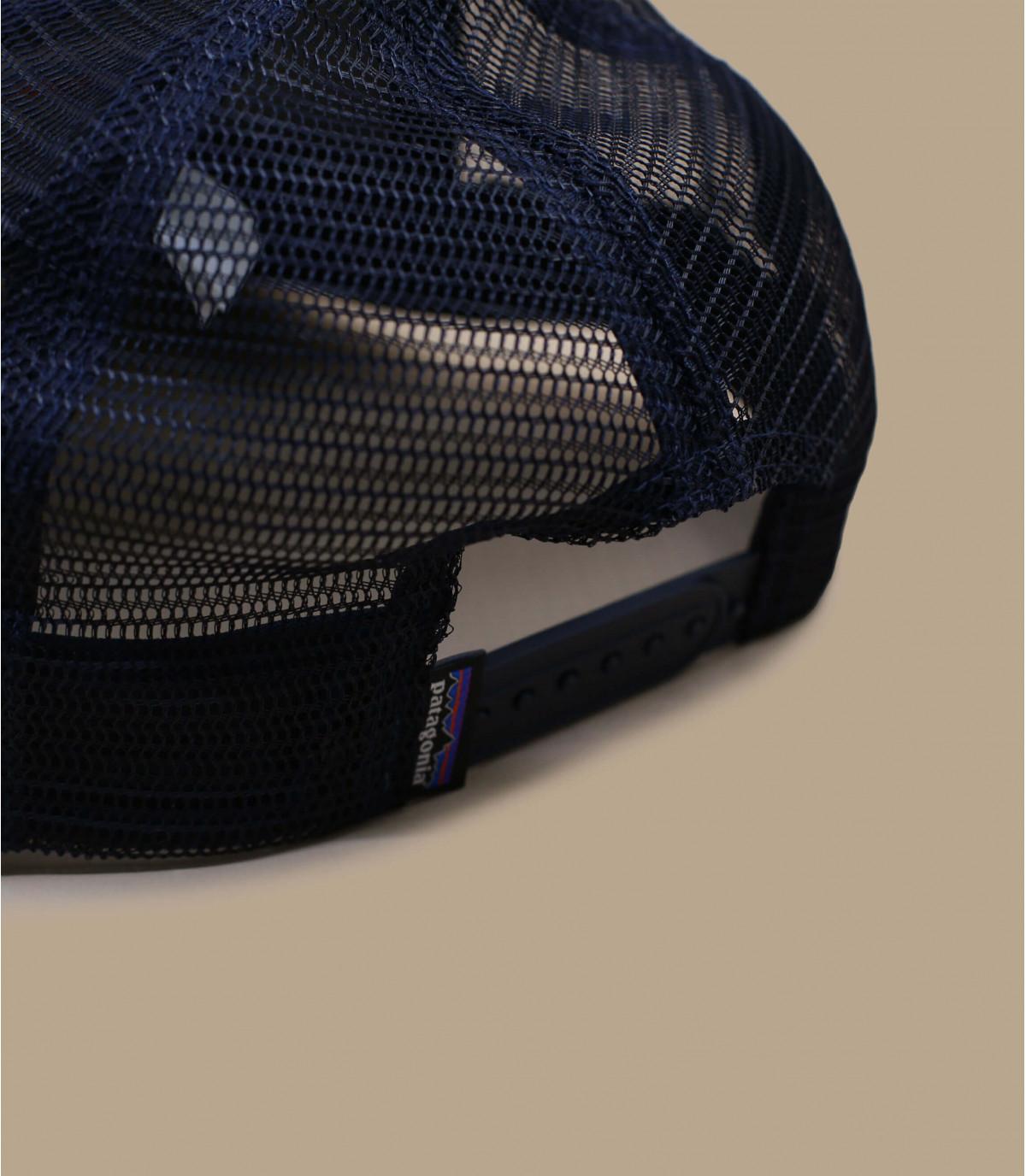 Détails P6 logo trucker hat navy blue - image 3