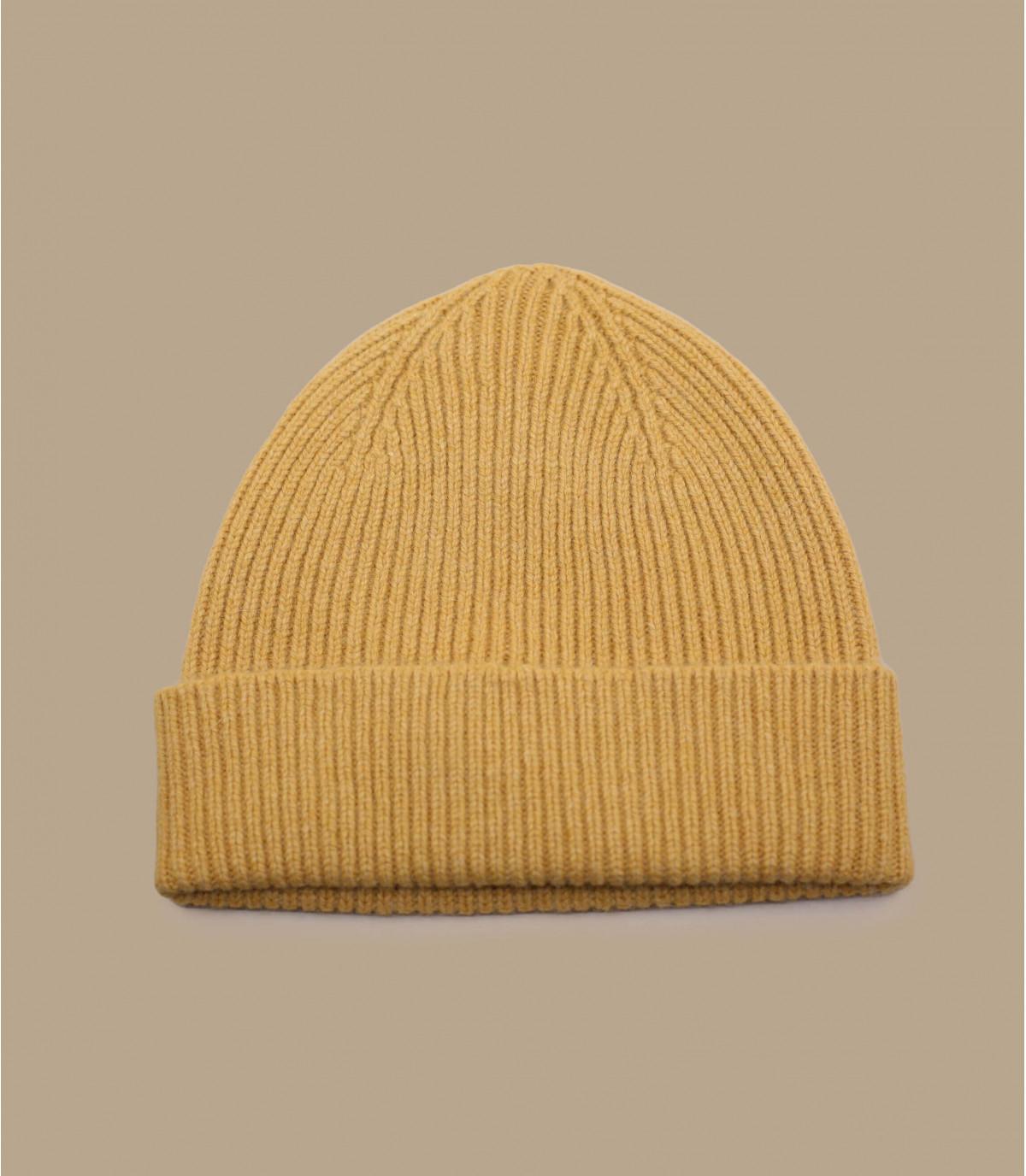 bonnet docker jaune Mackie