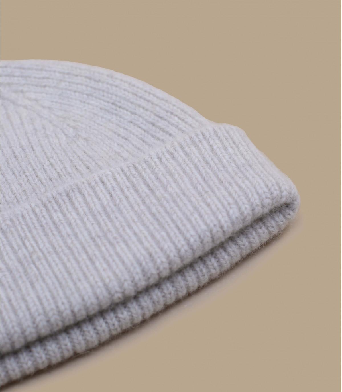 bonnet beige laine