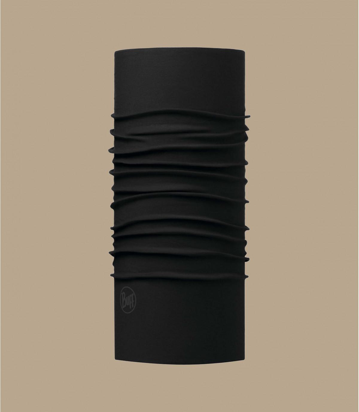 Buff noir microfibres