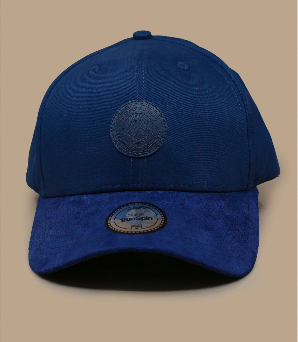 casquette ancre bleu