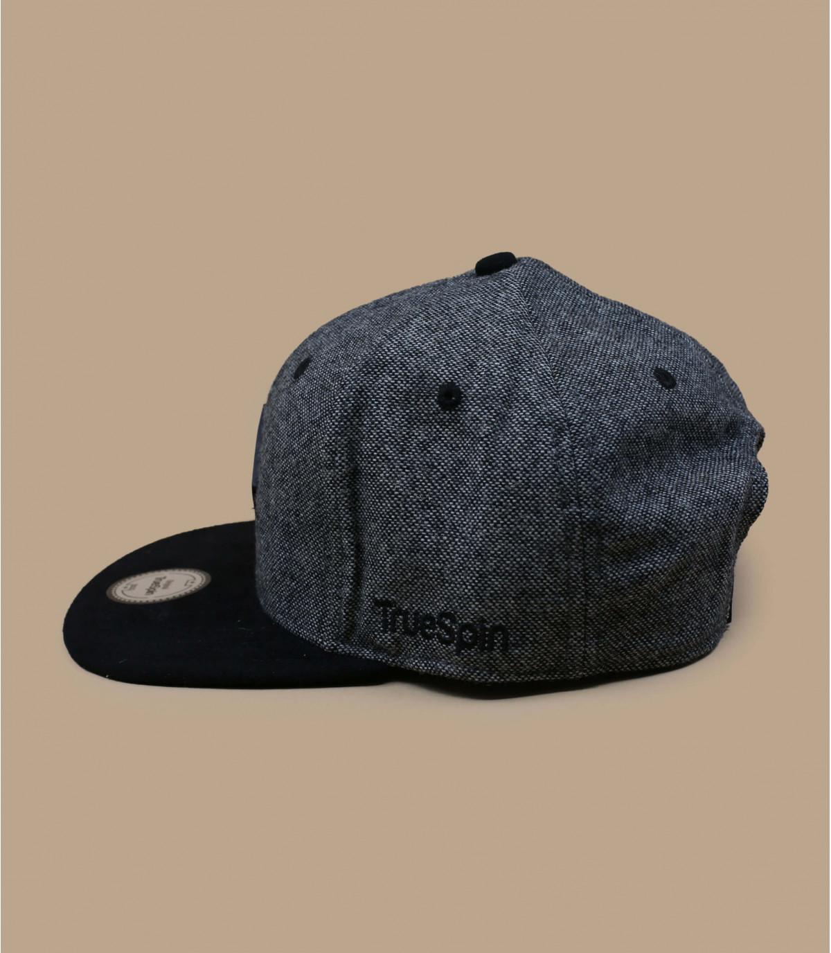 Détails Snapback Rubber Taper grey black - image 2