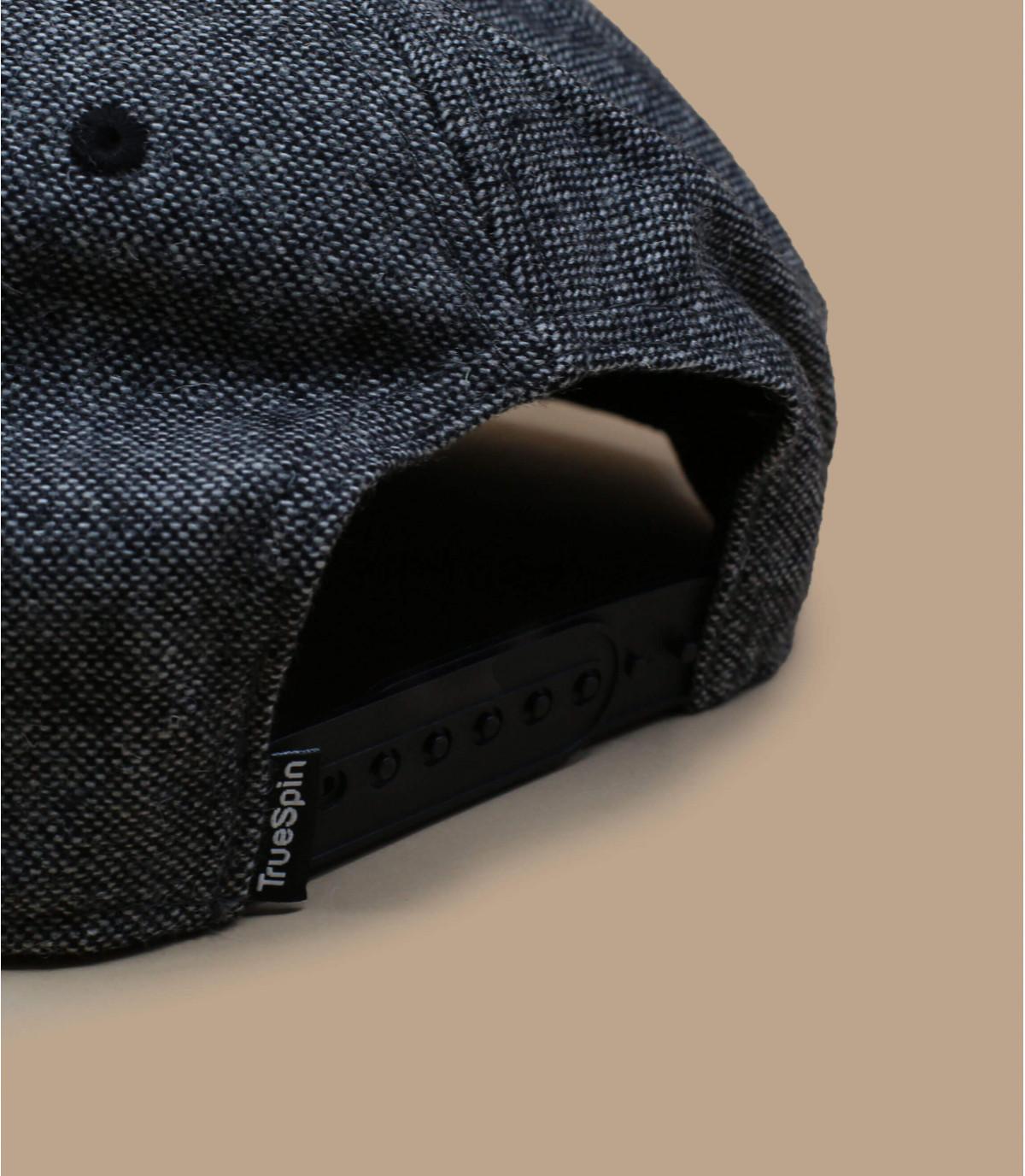Détails Snapback Rubber Taper grey black - image 3