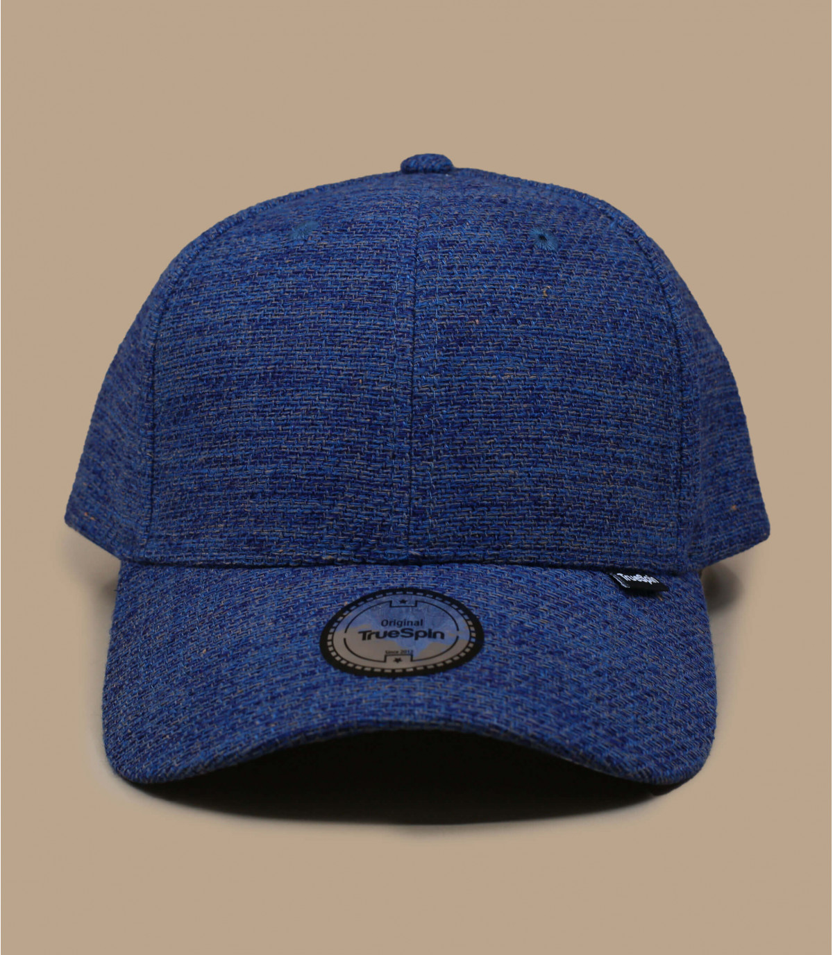 casquette bleu toile coton