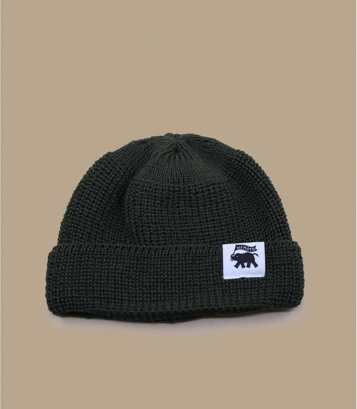 bonnet docker vert laine