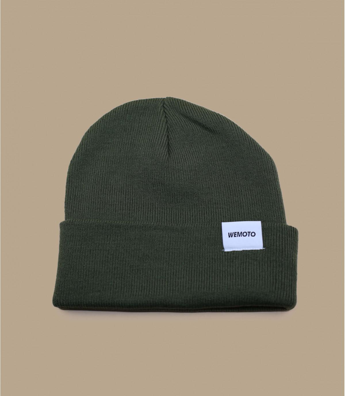 bonnet revers vert Wemoto