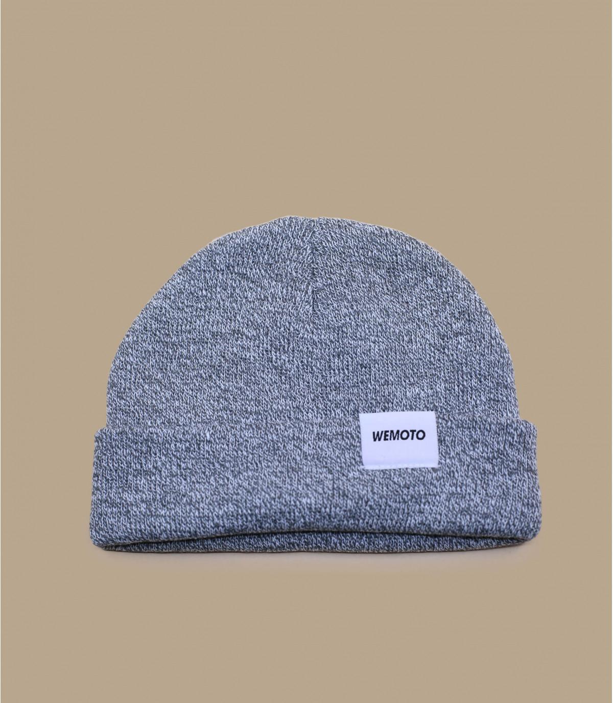 bonnet revers gris Wemoto