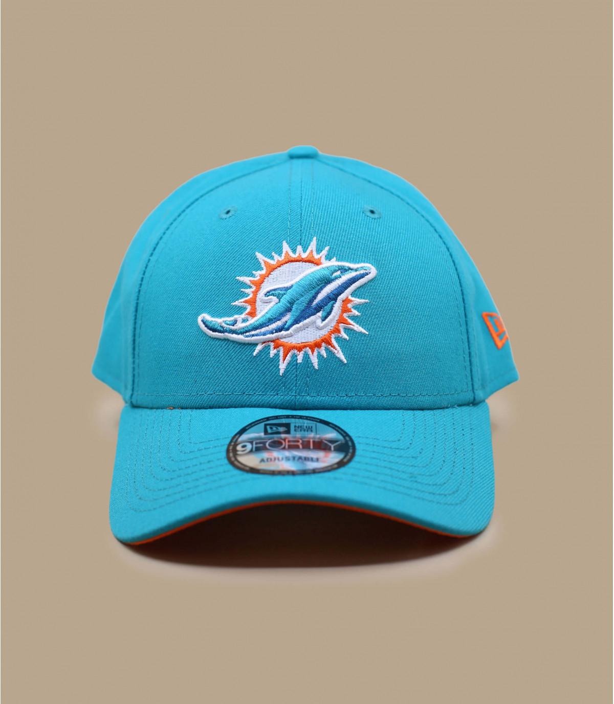 casquette curve Dolphins bleue
