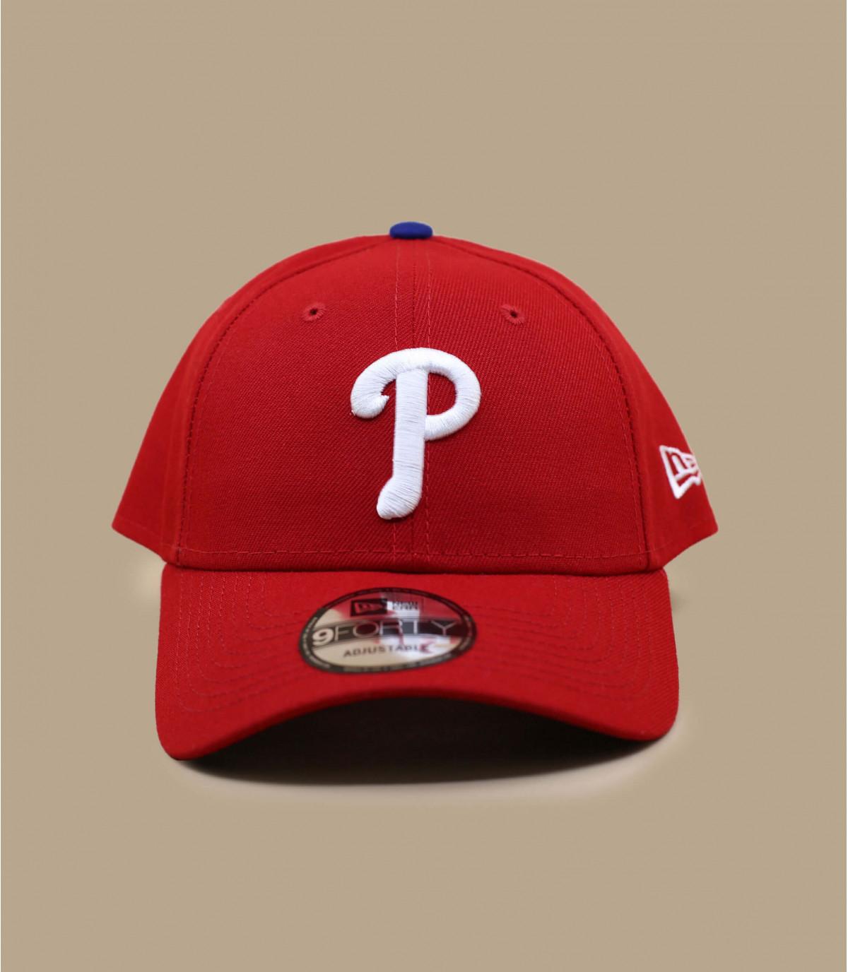 casquette P rouge