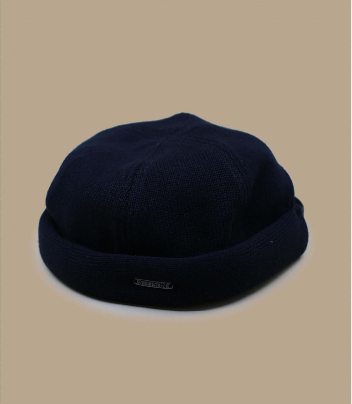 bonnet docker coton noir