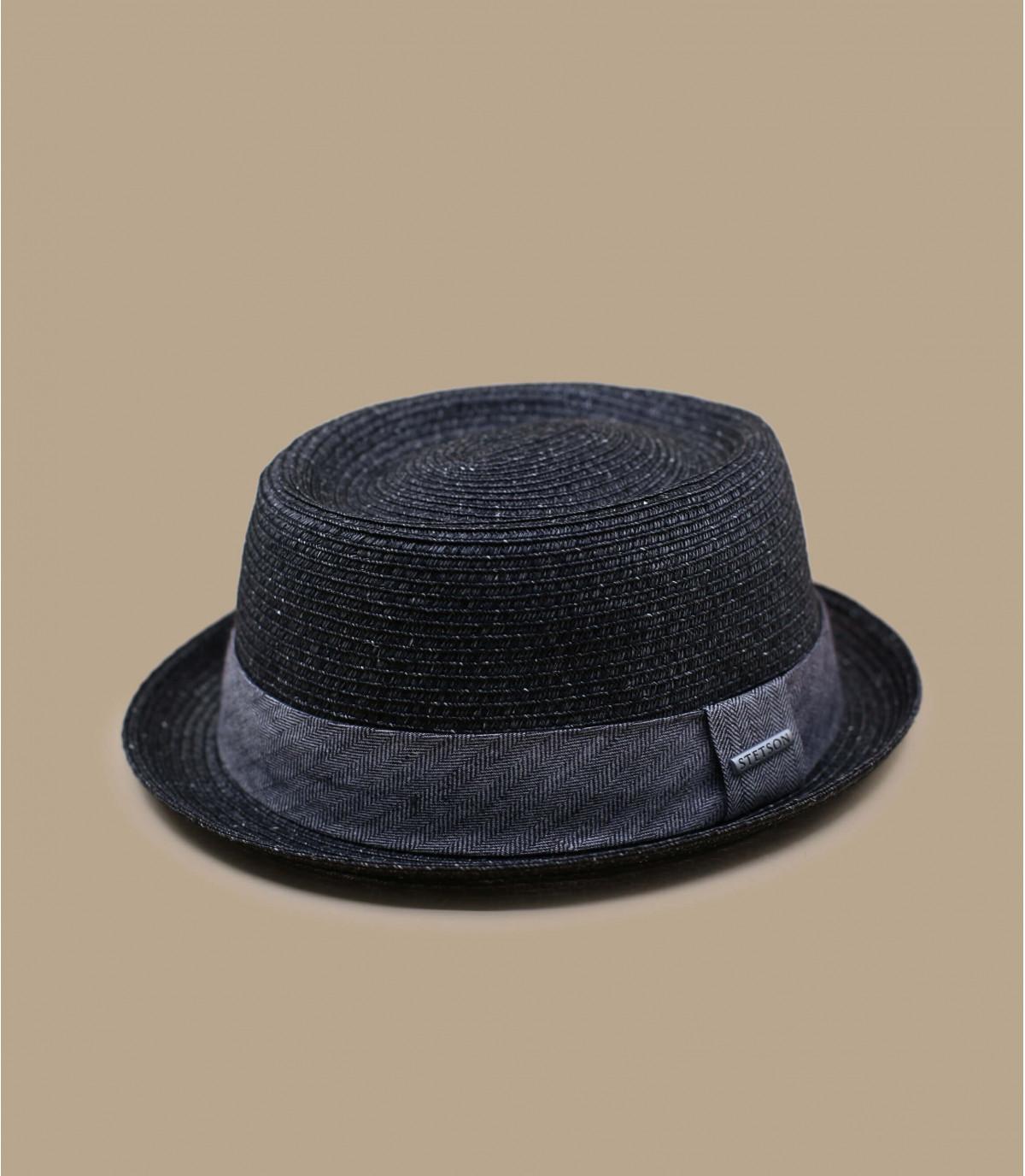 Chapeau été gris homme