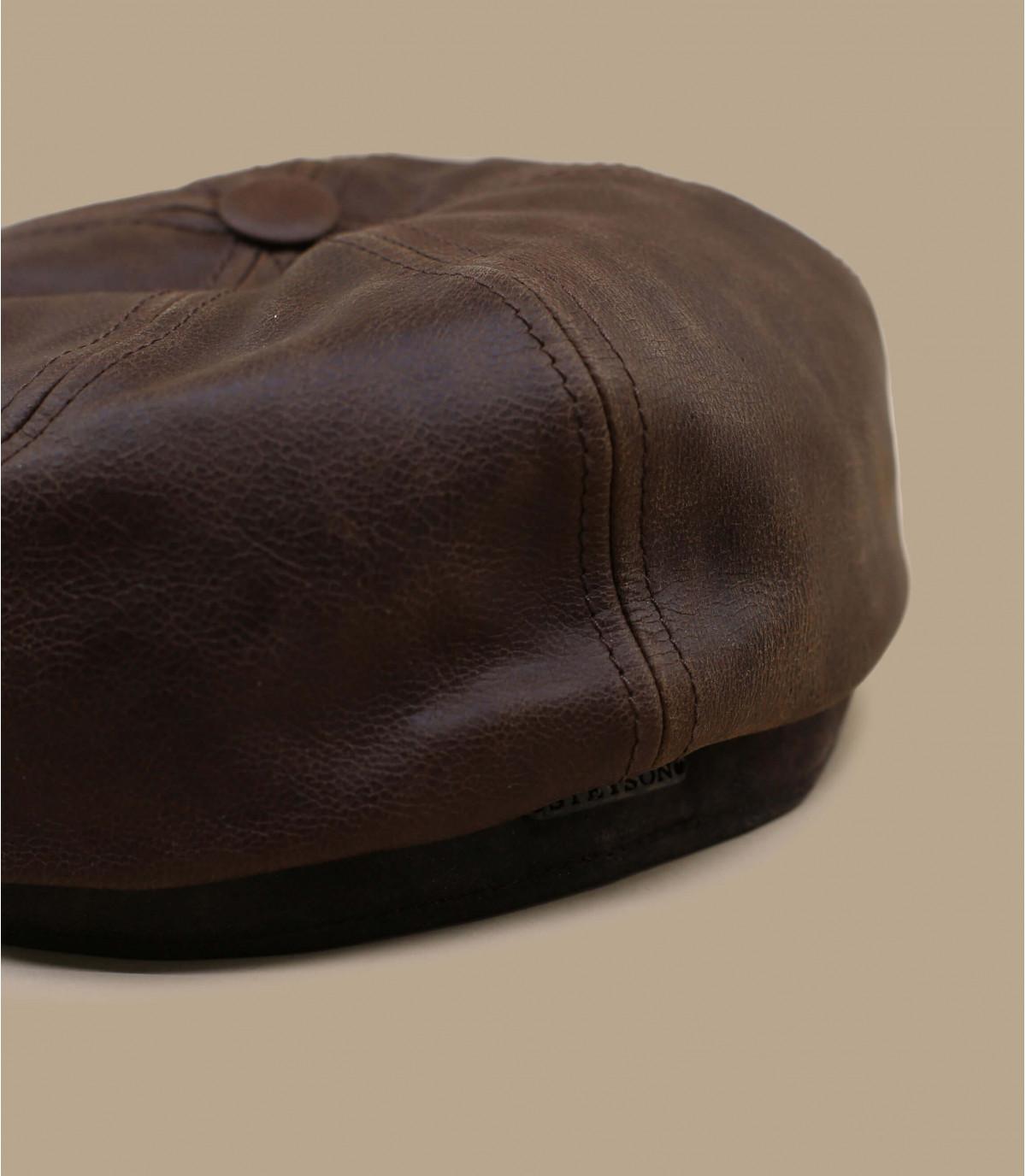 Casquette irlandaise cuir