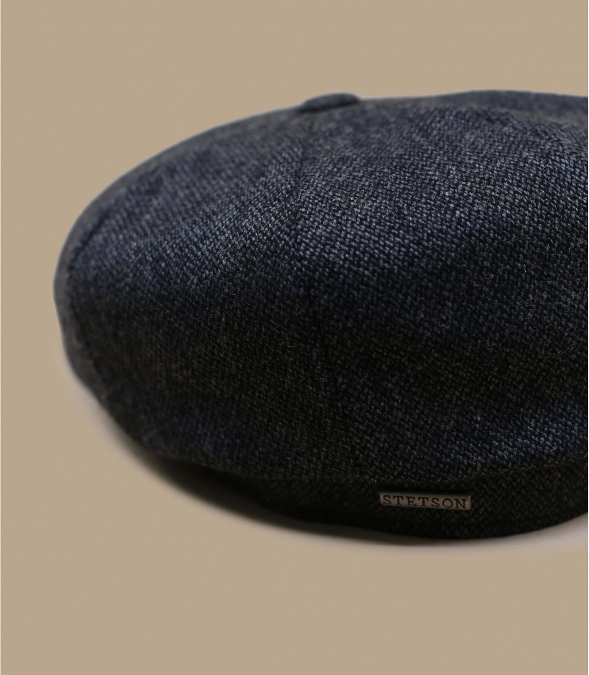 casquette gavroche gris laine